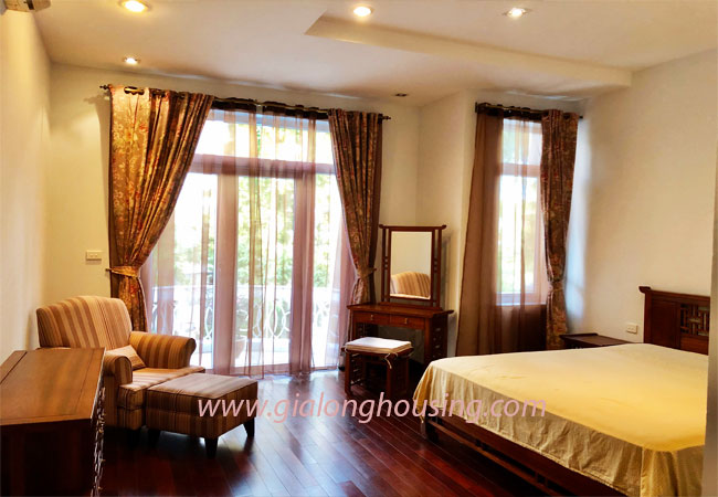 Nice furnished villa for rent in Block T4 Ciputra Hanoi 13
