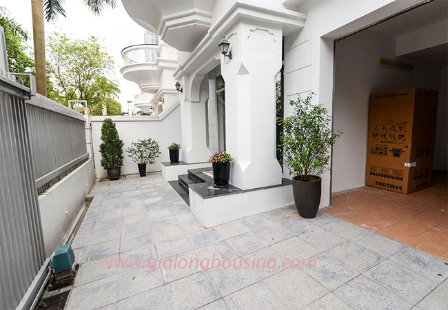 Nice furnished villa for rent in Block T4 Ciputra Hanoi 2