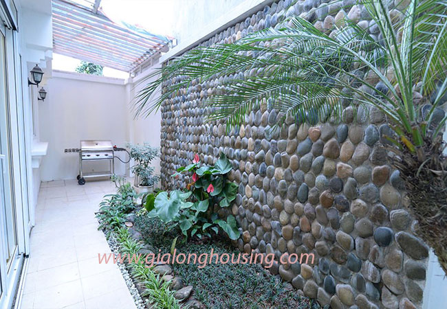 Nice furnished villa for rent in Block T4 Ciputra Hanoi 3