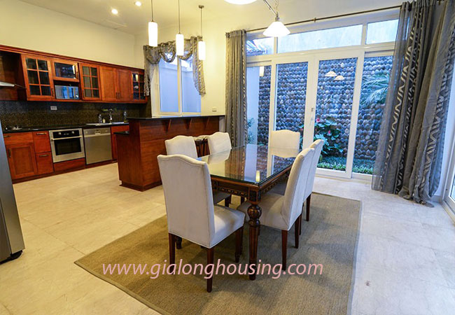 Nice furnished villa for rent in Block T4 Ciputra Hanoi 4