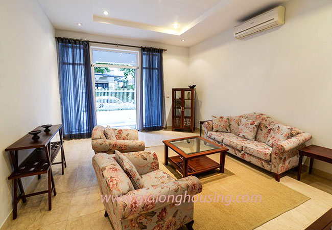 Nice furnished villa for rent in Block T4 Ciputra Hanoi 5