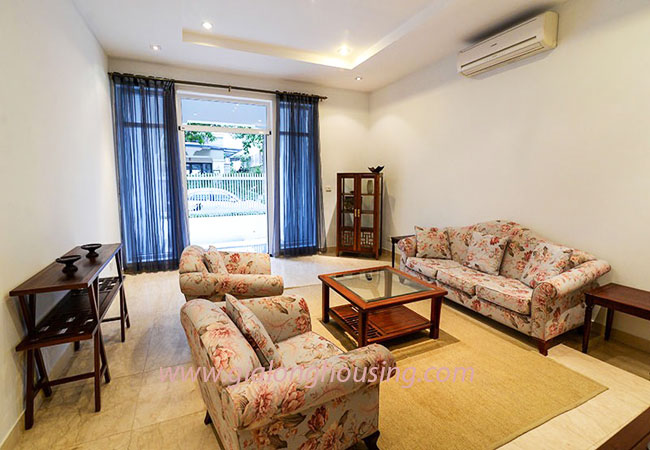 Nice furnished villa for rent in Block T4 Ciputra Hanoi 6
