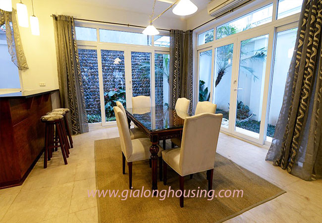 Nice furnished villa for rent in Block T4 Ciputra Hanoi 7