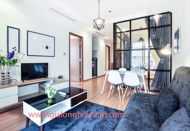 Two bedroom apartment for rent in Vinhomes Nguyen Chi Thanh, nice furnished 3