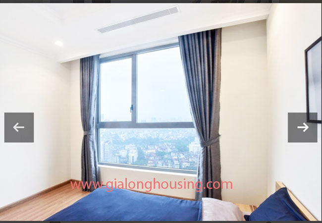 Two bedroom apartment for rent in Vinhomes Nguyen Chi Thanh, nice furnished 9