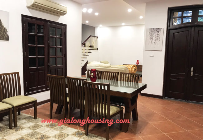 Nicely furnished villa Ciputra for rent with 6 bedrooms, C Block 3