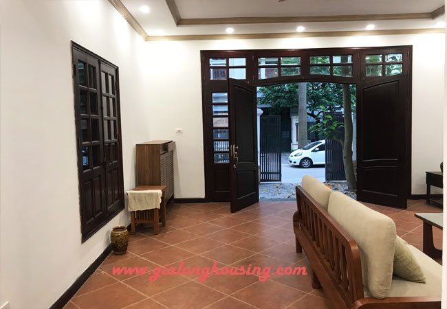 Nicely furnished villa Ciputra for rent with 6 bedrooms, C Block 4