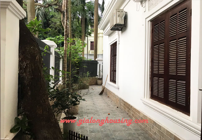 Nicely furnished villa Ciputra for rent with 6 bedrooms, C Block 9