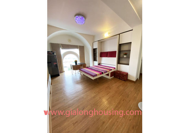 Fully furnished serviced apartment for rent in Lang Ha street 8