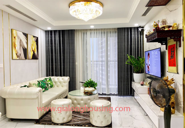 Luxury apartment for rent in Park 5 building Times City 1