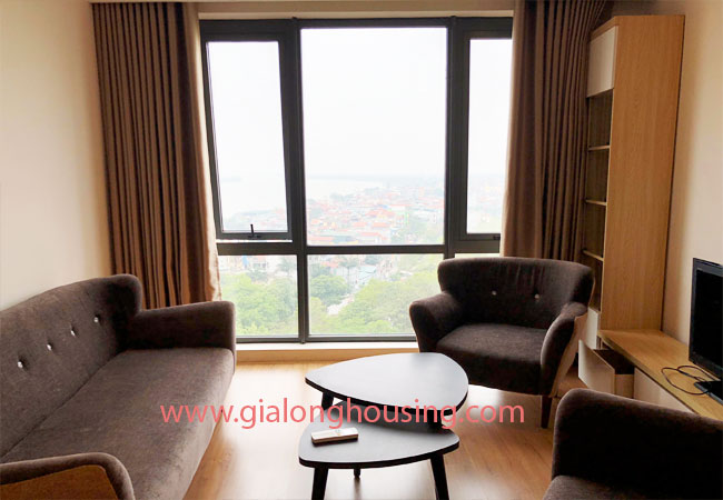 Fully furnished apartment for rent in Mipec Riverside 2