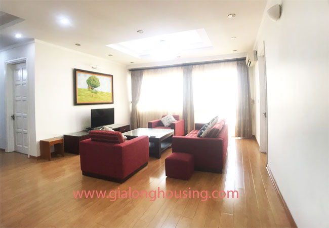 4 bedroom apartment for rent in E4 building Ciputra 1