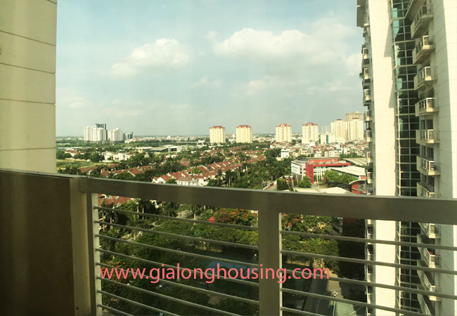 4 bedroom apartment for rent in E4 building Ciputra 11