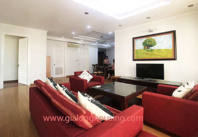 4 bedroom apartment for rent in E4 building Ciputra 2