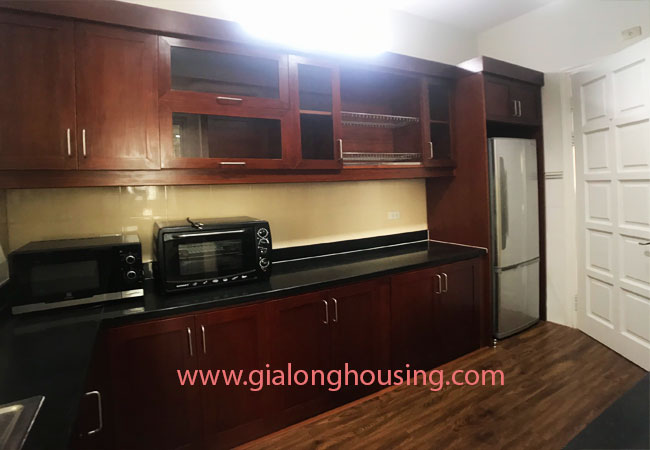 4 bedroom apartment for rent in E4 building Ciputra 4