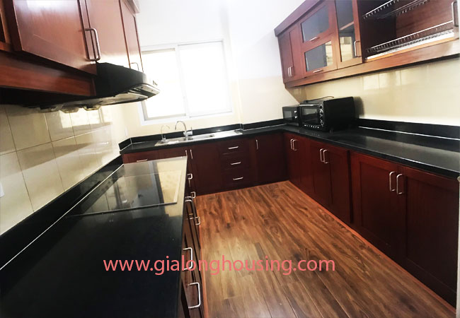 4 bedroom apartment for rent in E4 building Ciputra 5