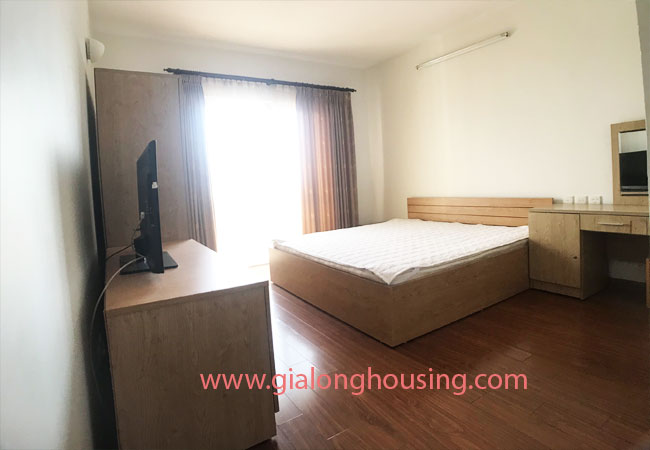 4 bedroom apartment for rent in E4 building Ciputra 8