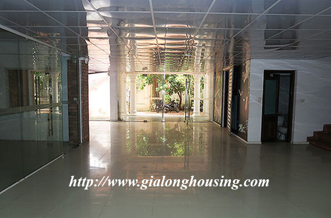 Very big unfurnished villa for rent on To Ngoc Van main road 5