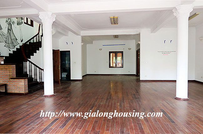 Very big unfurnished villa for rent on To Ngoc Van main road 11