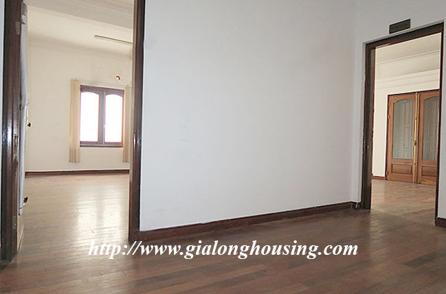 Very big unfurnished villa for rent on To Ngoc Van main road 15