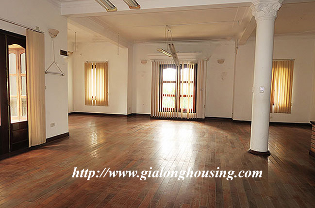 Very big unfurnished villa for rent on To Ngoc Van main road 1