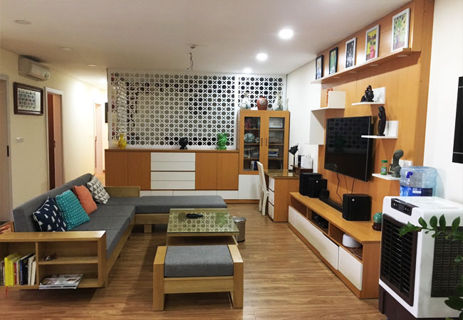 3 bedroom apartment for rent in Ngoai Giao Doan urban