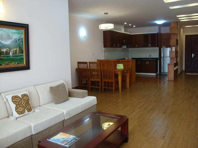 3 bedroom apartment in 249 Thuy Khue building