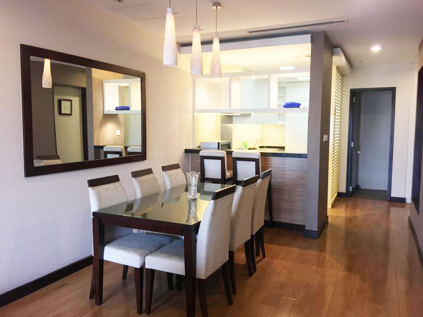 3 bedroom furnished apartment in Hoa Binh Green - Buoi street