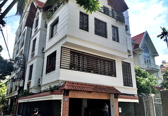 3 bedroom big house at the corner of  To Ngoc Van for rent