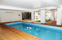4 bedroom house in tay ho for rent,swimming pool,courtyard