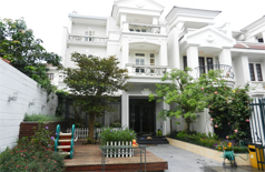 A stunning villa for rent in Block C Ciputra, Tay Ho district, Hanoi.