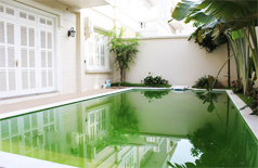 A stunning villa with swimming pool for rent in Block T Ciputra, Hanoi