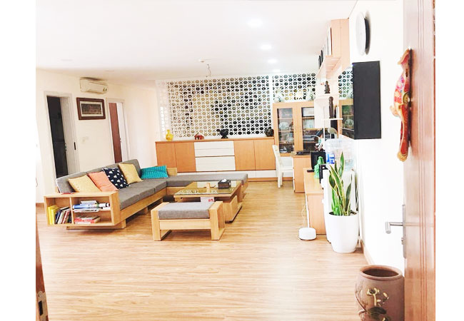 Apartment for rent in Ngoai Giao Doan Urban, 03 bedroom