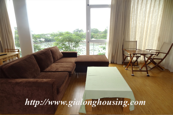 Apartment for rent in Tay Ho,lake view 5