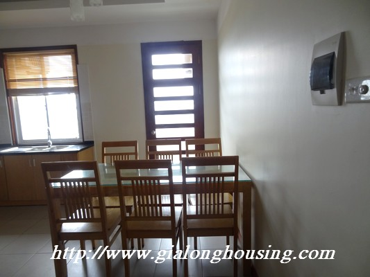 Apartment for rent in Veam building, Lac Long Quan street, Tay Ho district 7