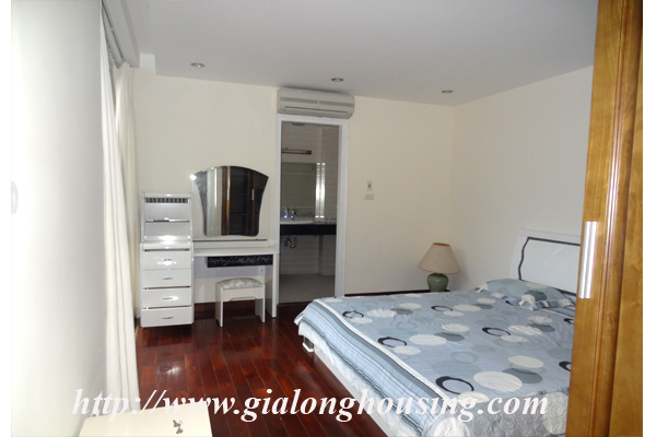 Apartment has a large balcony overlooking the lake for rent in Tay Ho, Hanoi 10
