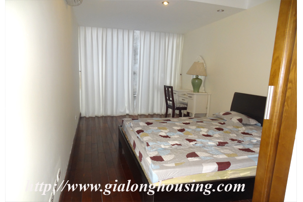 Apartment has a large balcony overlooking the lake for rent in Tay Ho, Hanoi 13
