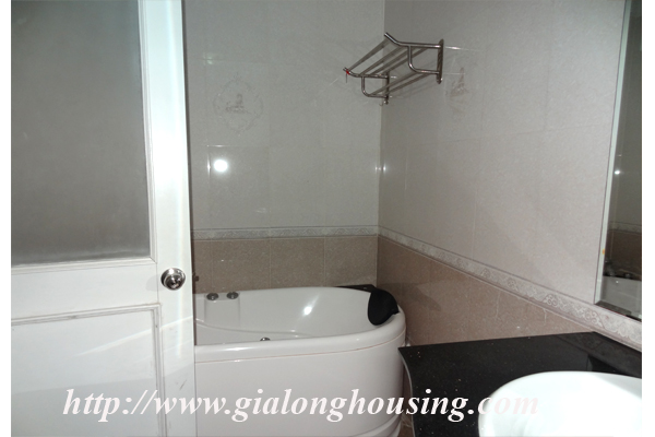 Apartment has a large balcony overlooking the lake for rent in Tay Ho, Hanoi 14