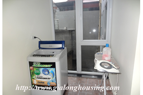 Apartment has a large balcony overlooking the lake for rent in Tay Ho, Hanoi 15
