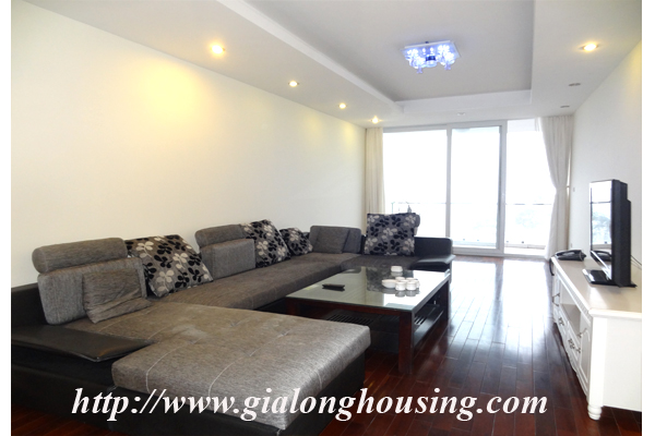 Apartment has a large balcony overlooking the lake for rent in Tay Ho, Hanoi 4