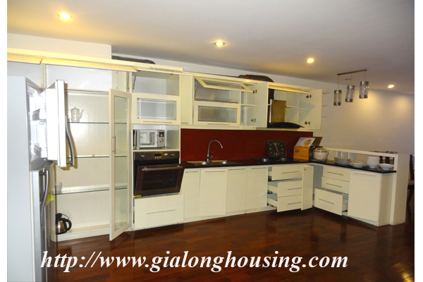 Apartment has a large balcony overlooking the lake for rent in Tay Ho, Hanoi 5