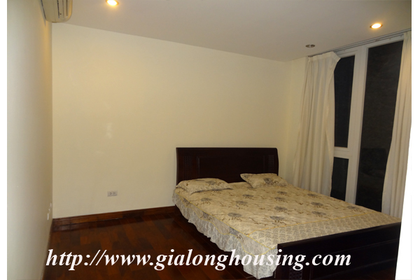 Apartment has a large balcony overlooking the lake for rent in Tay Ho, Hanoi 9