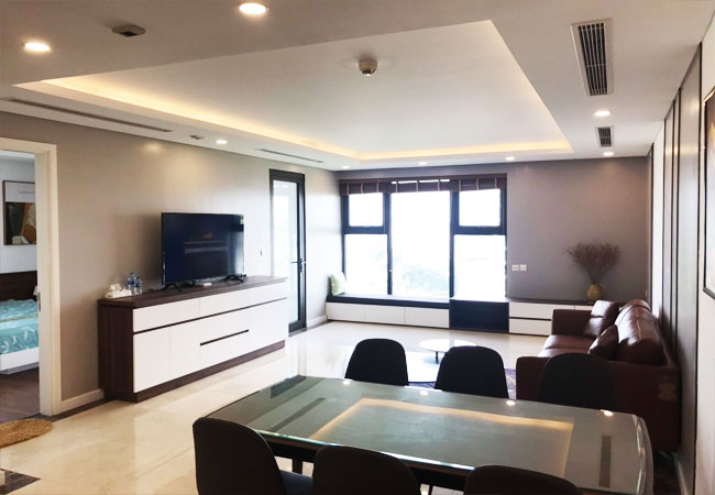Apartment in D'.Le Roi Soleil Quang An for rent