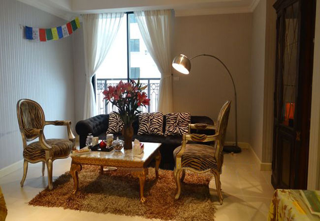 Apartment in royal style for rent in Pacific Place