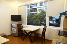 Gorgeous apartment for rent in Xuan Dieu close to west lake Hanoi