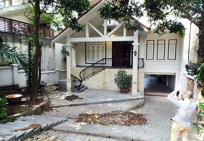Beautiful yard garden house with 5 bedroom in Tay Ho