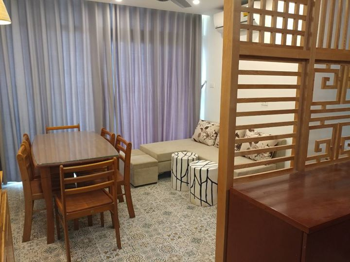 Big 3 bedroom apartment in Doi Can for rent from today