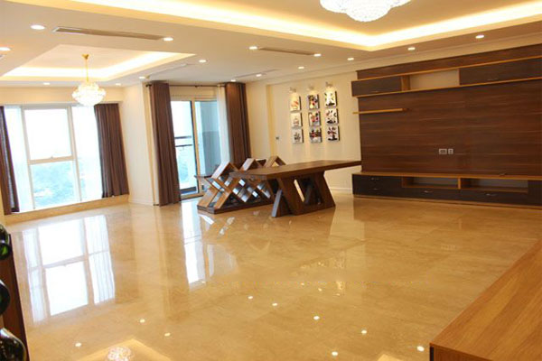 Big apartment in L building, Ciputra