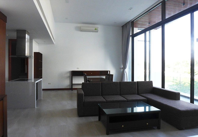 Big apartment in Yen Phu village for rent with 01 bedroom