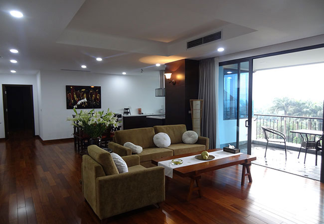 BRAND NEW: 04 bedroom big apartment in Dang Thai Mai for rent